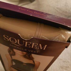 squeem Intimates & Sleepwear - Squeem miracle vest in nude